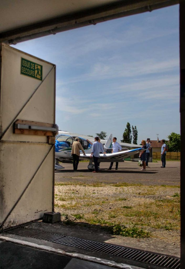 Visites guidées Fly-in Robin Aircraft 2016