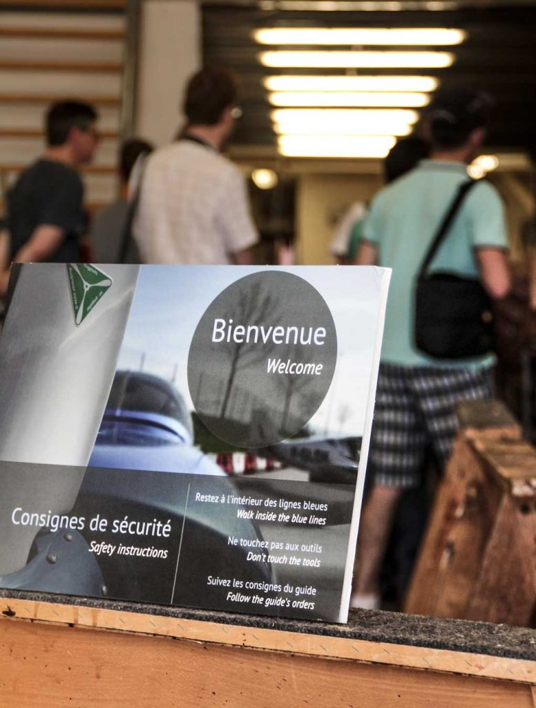 Ateliers Robin-Aircraft Fly'in menuiserie