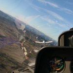 reflet verrière avion