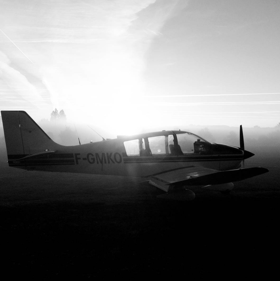 INSTAGRAM: ludaero17 - brume matinale DR400 Robin Aircraft