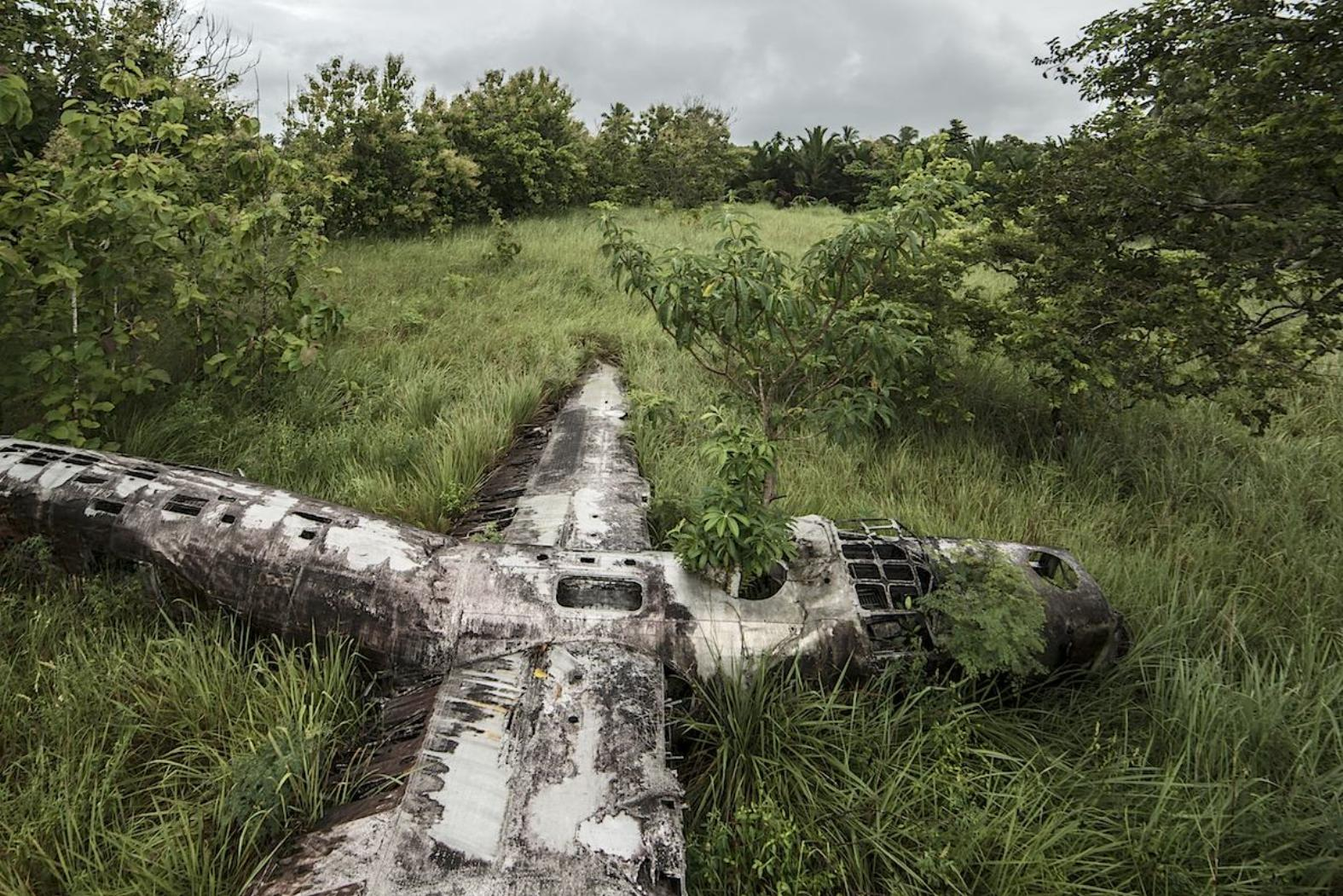 dietmar eckell carcasse avions