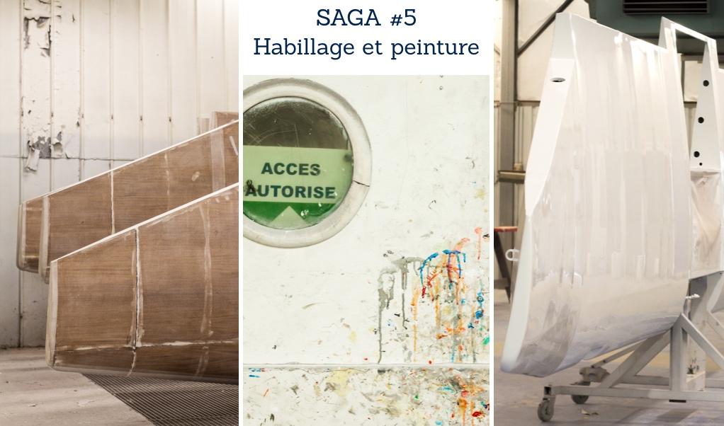 Habillage et peinture du DR401 - process de fabrication - Saga Robin Episode 5