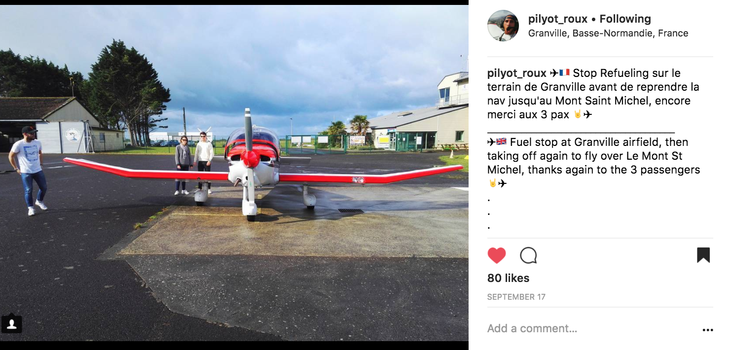 I stand in front of the plane - pilyot_roux