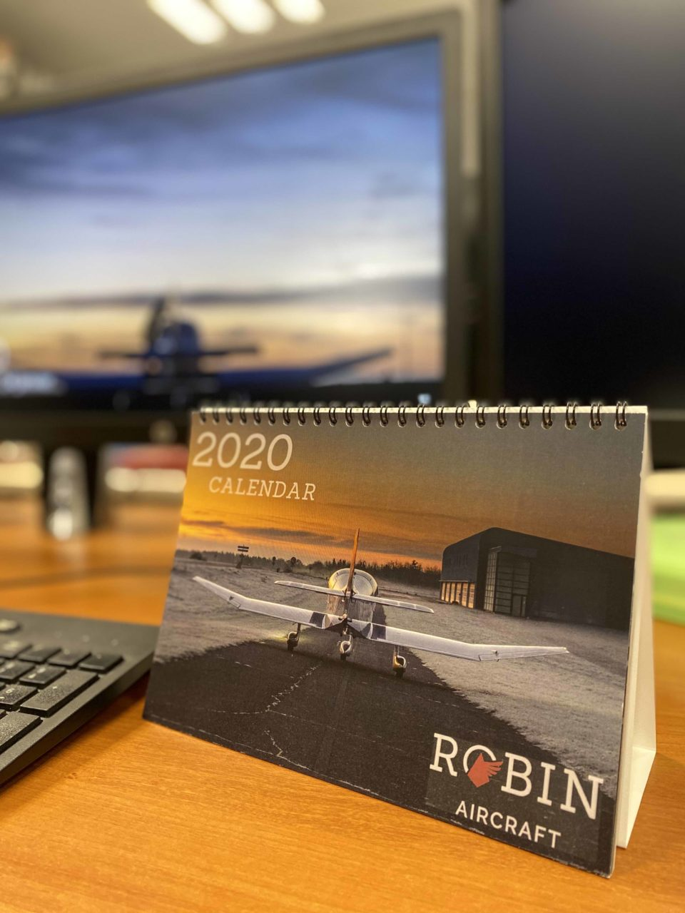 Calendrier 2020 - Robin Aircraft